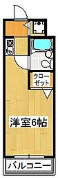 PLENDY船橋法典[B103号室]の間取り