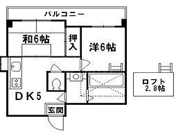 West Square[4階]の間取り