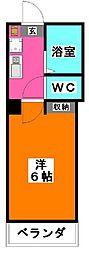 Glanz赤羽WEST[3階]の間取り