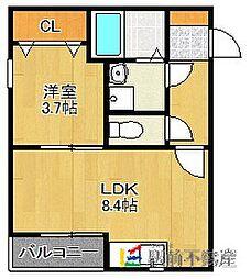 姪浜駅 5.1万円