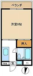 大塚第2マンション[105号室号室]の間取り