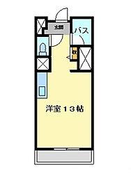 プリマヴェール名駅ノルテ[205号室]の間取り