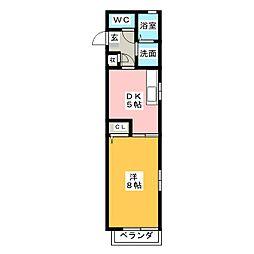 MORE GRACE[2階]の間取り