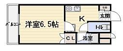 アーベントロート[5階]の間取り
