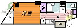 トーシンフェニックス神田岩本町弐番館(トーシンフェニックスカ[8階]の間取り