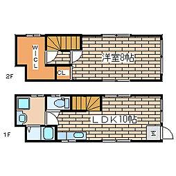 [一戸建] 兵庫県神戸市須磨区養老町1 の賃貸【/】の間取り