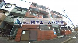 大阪府東大阪市俊徳町4丁目の賃貸アパートの外観