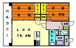 ファミーユ・シオハマ[2階]の間取り
