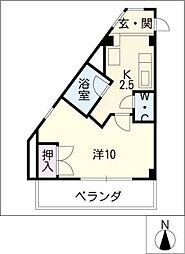 ラ・ステージ青山[1階]の間取り