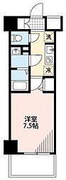 N-stage西所沢 13階1Kの間取り