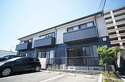 福岡県福岡市博多区空港前5丁目の賃貸アパートの外観