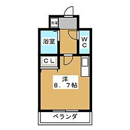 カワモトマンション[2階]の間取り