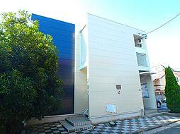 千葉県市川市曽谷2丁目の賃貸アパートの外観