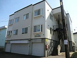 クラージュ福住[3階]の外観