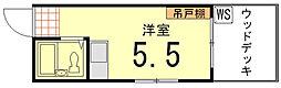 藤田ハイツ[103号室]の間取り