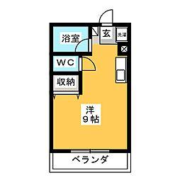 駅[2階]の間取り
