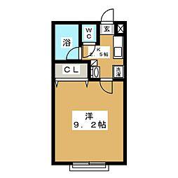 セゾンハウス[2階]の間取り