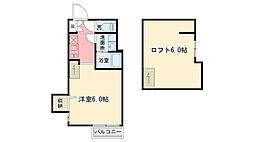 郷免町SKHコーポ[1階]の間取り
