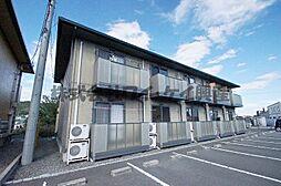 岡山県倉敷市青江の賃貸アパートの外観