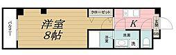千葉県千葉市中央区椿森1丁目の賃貸マンションの間取り
