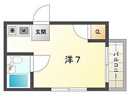 壱番館[3階]の間取り