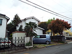 昭島市緑町3丁目 現地土地です。