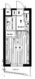 ライオンズマンション成城東[1階]の間取り