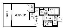 ロワール横濱鶴見[5階]の間取り