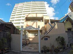 大阪府池田市栄町の賃貸アパートの外観
