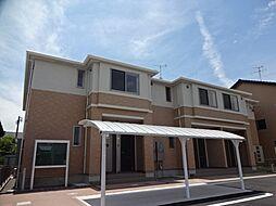愛知県一宮市松山町の賃貸アパートの外観