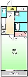 コンフォート三宝[2階]の間取り
