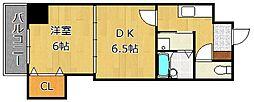 ロイヤルグランデ[8階]の間取り