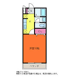 kokomo小新南[2階]の間取り