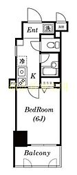 ロワール関内エナジス[11階]の間取り