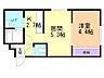 間取り,1LDK,面積30.26m2,賃料3.9万円,札幌市営東西線 二十四軒駅 徒歩5分,JR函館本線 琴似駅 徒歩17分,北海道札幌市西区二十四軒一条2丁目3番29号