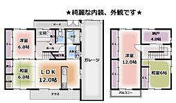 [一戸建] 京都府城陽市寺田尼塚 の賃貸【/】の間取り