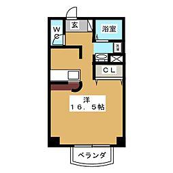 サンフェリーチェ・17[5階]の間取り