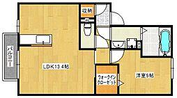 パドレ115[1階]の間取り