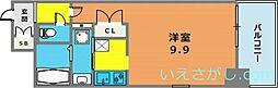 エスライズ新神戸[12階]の間取り