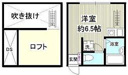 相模原市中央区東洲野辺新築アパート[206号室]の間取り