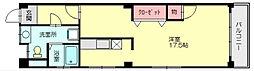 三角マンション[2階]の間取り