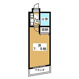 サンライズ88[3階]の間取り