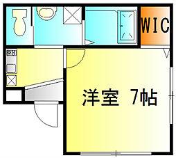 WH-N[201号室]の間取り
