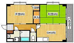 東建マンション[311号室号室]の間取り