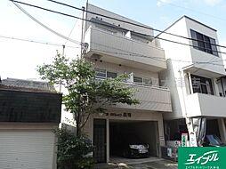 滋賀県大津市長等3丁目の賃貸アパートの外観