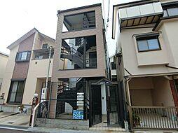 兵庫県神戸市灘区楠丘町3丁目の賃貸アパートの外観