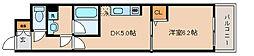 兵庫県神戸市兵庫区大開通2丁目の賃貸マンションの間取り