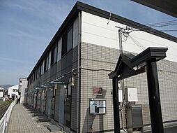 奈良県天理市富堂町の賃貸アパートの外観