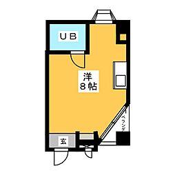 愛知県名古屋市南区内田橋2丁目の賃貸マンションの間取り