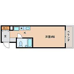 静岡県静岡市葵区七間町の賃貸マンションの間取り